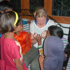 Thumbnail image for Chrissy's Visit to Our Lucknow Centre